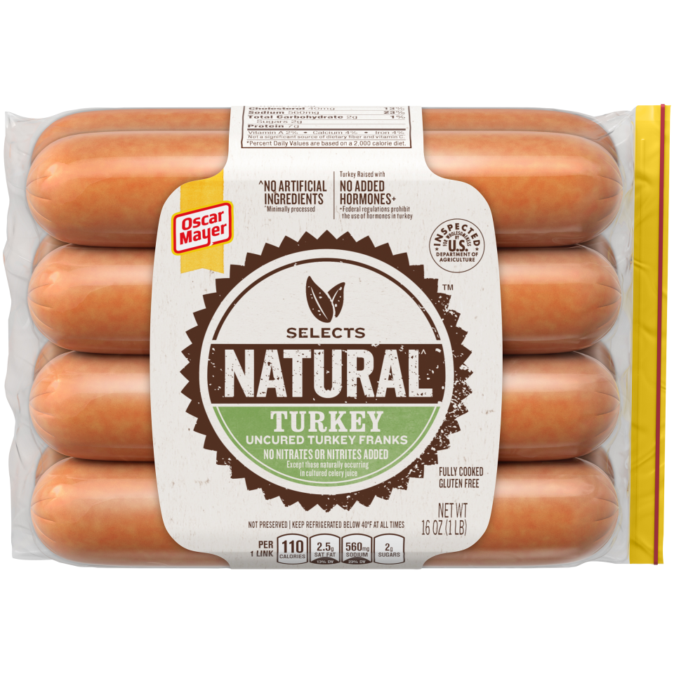 Applegate Farms Hot Dogs Turkey