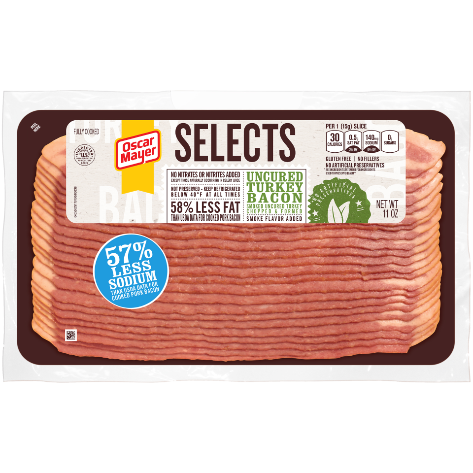 Bacon Turkey besides 00044700022634 in addition 514131d7bd92791173000382 in addition Oscar Mayer Bacon Nutrition Label together with 00071871000383. on oscar mayer turkey bacon nutritional info