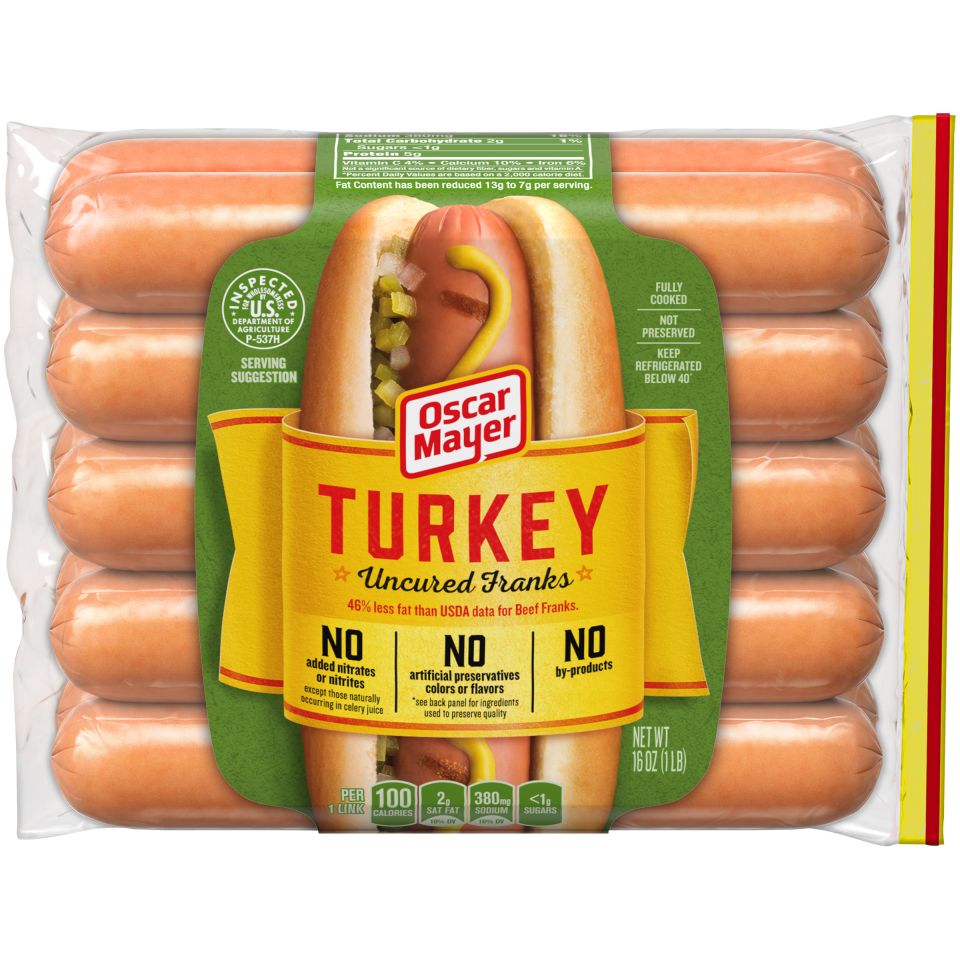 For Oscar Mayer hot dogs, the packages now list ingredients like celery juice that has been treated with bacterial culture.