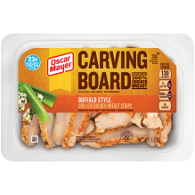 Carving Board Buffalo Style Grilled Chicken Strips