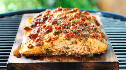 How to Make Cedar-Plank Grilled Salmon
