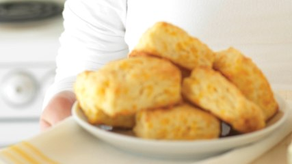 Easy Bake Cheddar Biscuits