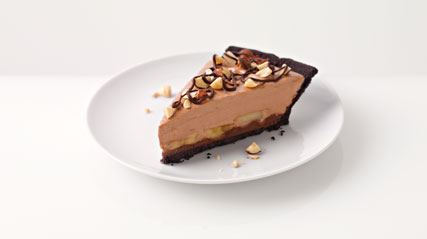 Chocolate Hazelnut Banana Pie