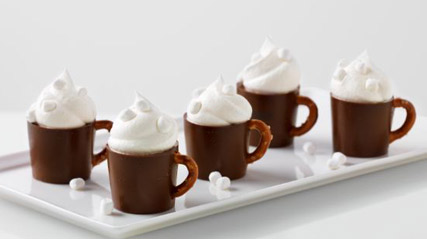 Hot Cocoa Pudding Mugs