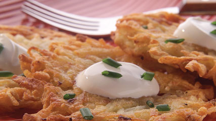 Classic Potato Latkes Recipe - Kraft Recipes