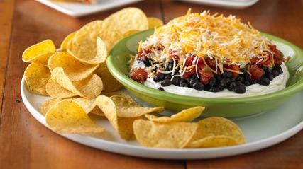 Layered Black Bean Dip Kraft Recipes
