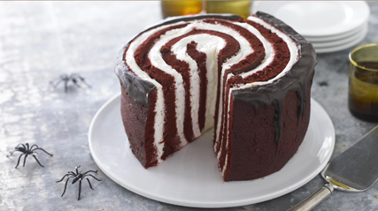 Under-a-Spell Red Devil Cake