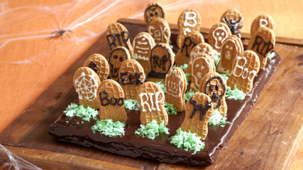 Graveyard Brownies Kraft Recipes
