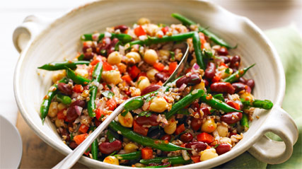 Bean Bulgur Salad 1834 on oscar mayer pork bacon ingredients