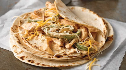 Creamy Chicken Fajitas