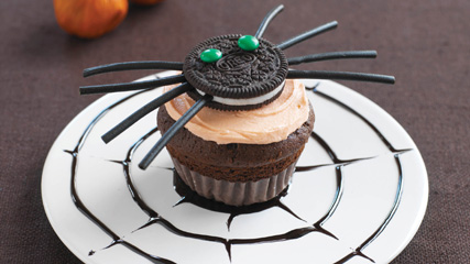 Creepy Crawly Cupcakes