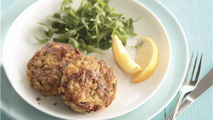 No Fuss Fishcakes
