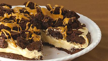 Tarte au beurre d'arachide et aux brownies
