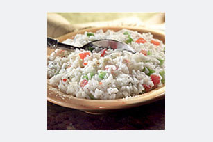 10-Minute Tomato-Basil Rice Salad