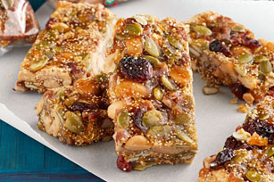 How to Make Crispy Seed & Nut Bars Video