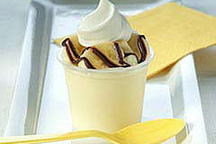 5-Minute Banana Split Cup