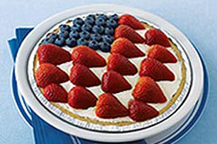 American Berry No-Bake Cheesecake