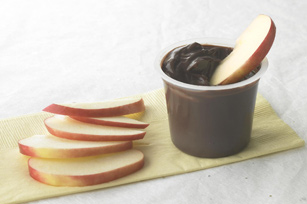 Apples and Chocolate Pudding Dip