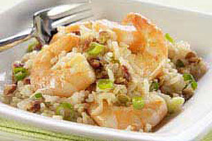 Asian Pecan, Shrimp & Rice Salad