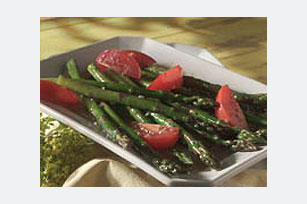 Asparagus & Tomatoes Italian