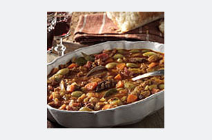 Asturian Bean Stew with Sausages -- (Asturia, Spain)