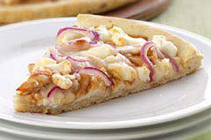 BBQ Chicken Pizza with Feta