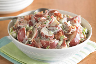 How to Make Bacon-Ranch Potato Salad Video