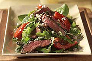 Balsamic Steak and Blue Cheese Salad