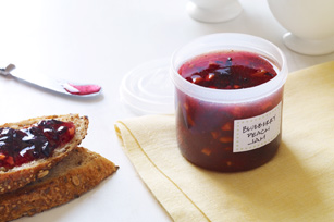 30 Minutes to Homemade SURE.JELL Blueberry-Peach Freezer Jam