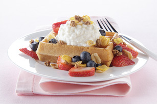 Blueberry-Strawberry Breakfast Shortcake