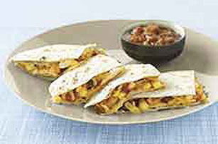 Chicken & Corn Quesadillas