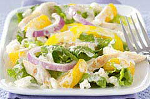 Citrus Chicken & Feta Salad