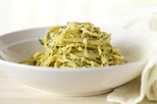 Creamy Green Spaghetti