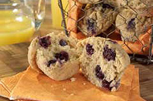 Double-Berry Muffins