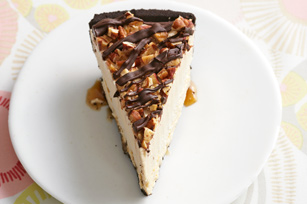 Frozen Peanut Butter Turtle Pie
