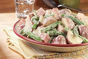 Green Bean, New Potato & Ham Salad