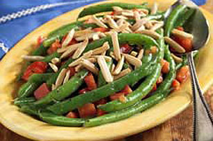 Green Bean & Pepper Salad