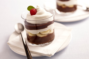 Low-Fat Chocolate-Banana Parfaits