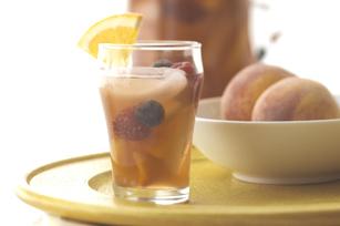 Peachy Iced Tea Sangria