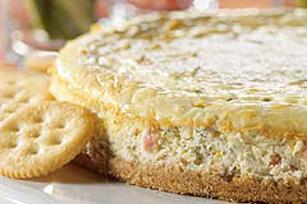 Smoked Salmon Cheesecake