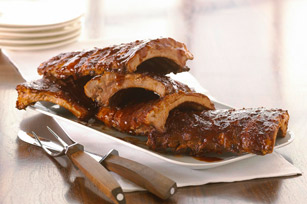 Sweet & Spicy Baby Back Ribs