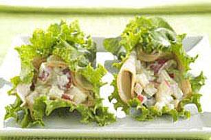 Turkey-Waldorf Lettuce Wraps