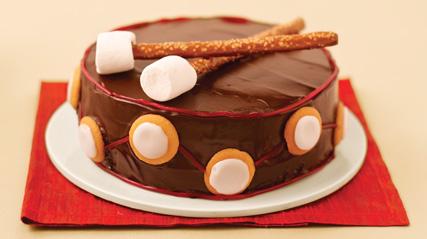 Gâteau « tambour »