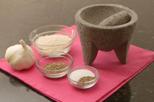 How to Prepare a Mortar and Pestle