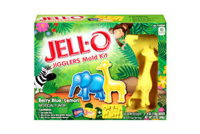 JELL-O Molds, Kits & Cutters