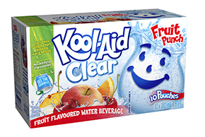 Kool-Aid Clair Punch aux fruits 10x180ml