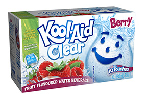Kool-Aid Clear Berry 10x180ml