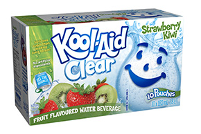 Kool-Aid Clear Strawberry Kiwi 10x180ml