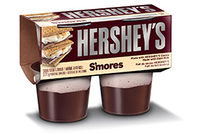 HERSHEY'S Refridgerated Pudding Snacks S'mores 371g