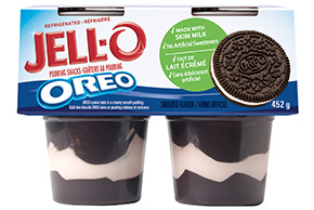 JELL-O Refrigerated Pudding Snacks Oreo 452g